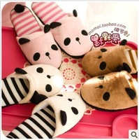 Massage plush lovers slippers derlook platform autumn and winter cotton-padded slippers fashion