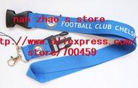 WHOLESALE --10pcs FOOTBALL CLUB CHELSEA sport Lanyard for MP3/4 cell phone/ key /Neck Strap Lanyard WHOLESALE