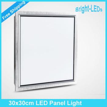 6pcs 8W LED Ceiling Panel Light 300x300 Ultrathin energy saving