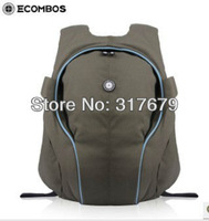 The tide cool personalized sports and leisure backpack men and women shoulder bag computer bag waterproof DuPont fabric