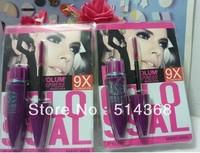48 pcs / lot free shipping Mascara Volume Express Colo SSAL Mascara, 9X THE VOLUME ELONGATION 10.7 ml #332