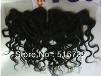 """Beyonce Fashion Middle part Deep Curl Lace Frontal ,Brazilian Virgin Human Hair Piece With Baby Hair 13x4"""""""