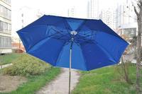 Jw steel pipe zinc fishing umbrella sun protection umbrella windproof anti-uv to nail
