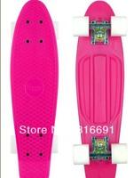 "free shipping 22"" Penny Original 2012 Range Nickel Skateboard Cruiser min colour complete plastic skateboard"