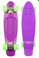 "Free shipping  Blank Vinyl Cruiser Plastic 22"" Penny / Stereo Size Retro Skateboard mini Penny skateboards"