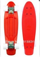 Twiddlefish skateboard four wheel skateboard penny fish skateboard plastic brush plate
