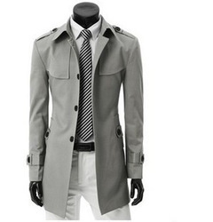 Free Shipping New Arrival men&#39;s trench coat ,multicolor casual outerwear jacket caot for men ,British fashion men&#39;s Windbreaker(China (Mainland))