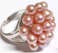 brand new pink freshwater pearl size 7 8 9#