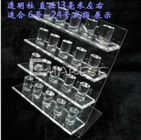 Acrylic ring display rack plaid pavans earring rack accessories rack jewelry holder box
