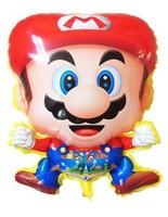 50 pcs/lot Mario Helium balloon Foil mylar balloons Children toys