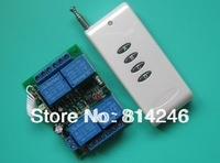 Free shipping , 500 meters and 4-way remote control power switch can be set to jog, self-locking interlock