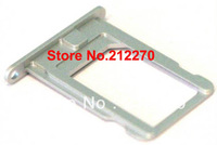 White For iPhone 5 Original OEM Nano Sim Card Tray Slot Holder Replacement Parts