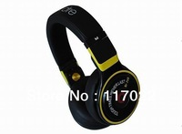 Free shipping Pro new design High A+ Quality fashion new hot selling  yellow&black color headphones with noise cancelling