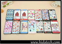 100pcs/lot,DHL Free Shipping!For iPhone 4 Kitty Cat Hard Case,PC film+PC Cover,Original SOKAD Band Hard Case