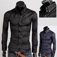 Products of South Korean imports of fabric Takifugu Lingge Long Sleeve Shirt