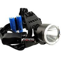 1800 Lumens CREE XM-L XML T6 LED Lampe Frontale Velo Tactique +2x 18650 SET A2