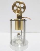 Stirling Engine All copper engine model - single cylinder vertical band boiler - creative gifts