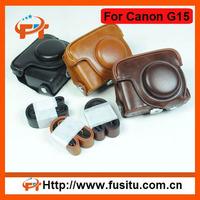 2012 New Style fashion leather camera bag