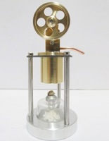 Stirling Engine All copper engine model - single cylinder vertical band boiler - creative gifts