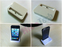 100pcs/lot,Free Shipping by DHL! White Black Dock Cradle Sync Charger Station For iPhone 5 5G, 8pin Docking Station