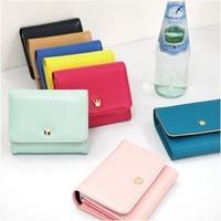 2012 two-fold short design wallet female wallet card holder card case 5