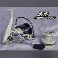 Free shipping, VIVA THUNDERBDLT  VCA2000/3000/3500/4000/5000 9+1BB metal body  spinning fishing reel