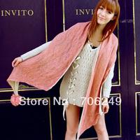FREE SHIPPING,Pom Pom scarf,acrylic scarf,fahsion knitting shawl,mohair quality scarf,ladies scarf,winter scarf,2012 new design