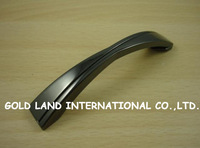 96mm Free shipping zinc alloy Black  kitchen cupboard wardrobe drawer door handle