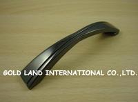 96mm Free shipping zinc alloy Black  kitchen cupboard wardrobe drawer door handle