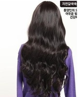 Wholesale Long Wavy Wig, 3 Colors One Piece Full Head  Hairpiece for Female, 5PCS/Lot