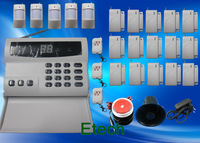 EMS Free Ship High Quality Wireless Home Security Alarm System Kit Auto Dial Burglar Alarm Systems S223