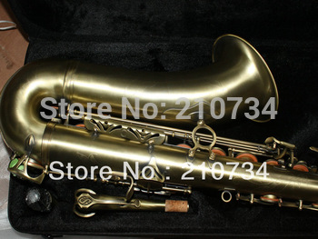 Wholesale -Antique 54 Tenor Saxophone with Case Top Musical instruments Free shipping
