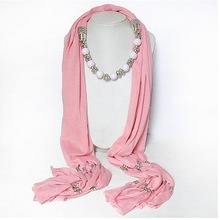 beaded scarves promotion
