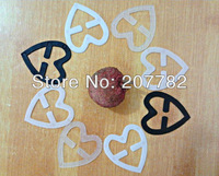 CHINA POST AIR MAIL Loose-packed 1500Pcs/lot Heart shaped bra strap clip cleavage control strap perfect