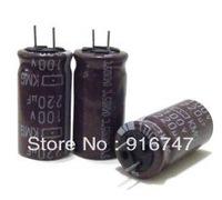 capacitor   Nippon   KMG 220uF 100v 105C  12x25