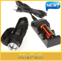 TrusTfire A8 1600 Lumen CREE XML T6 Mini LED Flashlight Torch + Holster + 26650 Battery + Charger, Free Shipping