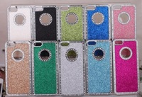 Deluxe Chrome Bling Diamond Rhinestone HardBack Case Cover For Apple iPhone 5 5G 100pcs/lot