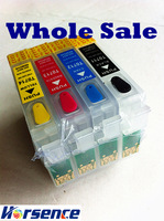 T0715 Refillable ink cartridge For Epson SX215 SX415 SX515 BX310FN printers,T0711 T0712 T0713 T0714 refillable ink - Whole Sale