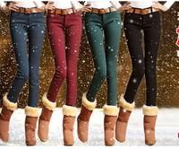 Free shipping! Women's jeans feet pants pencil pants