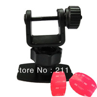 Best Price Simple U style 3M Car Camera Mount Holder for Car Black Box DVR 5E5 GS1000 5F5 GS2000 X3000AV X3000 GS900 GS800 Mount