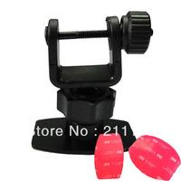 Best Simple U style 3M Car Camera Mount Holder for Car Black Box DVR 5E5 GS1000 5F5 GS2000 X3000AV X3000 GS900 GS800 Bracket