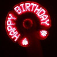 Wholesale Freeshipping Summer mini LED fan,Electronic Fan,flash toy 10pcs/lot