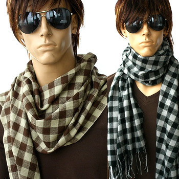 Discount!! W429 winter male scarf excellent Christmas gift(China (Mainland))