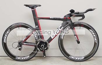 wholesale, tubular bike wheelset carbon fiber carbon Wheelset T-50 Tubular wheels 50mm rims,free shipping by EMS