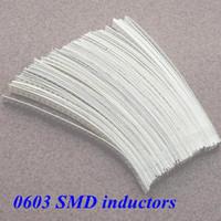 Free shipping! SMD 0603 Multilayer  inductors 1.0NH-22UH   30Valuesx50Pcs= 1500PCS, Sample Kit