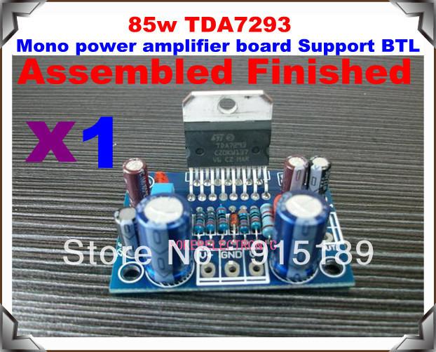 Аудио усилитель 1 PC X 85w TDA7293 BTL btl cardiopoint holter h100
