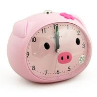 cartoon speech alarm clock small pig stype sweep movement