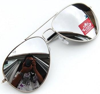 Sun glasses mercury mirror deceleration sunglasses reflective sunglasses large sunglasses 3025