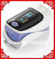 Color OLED Fingertip Pulse Oximeter - Spo2 Monitor Fingerpulsoximeter light purple