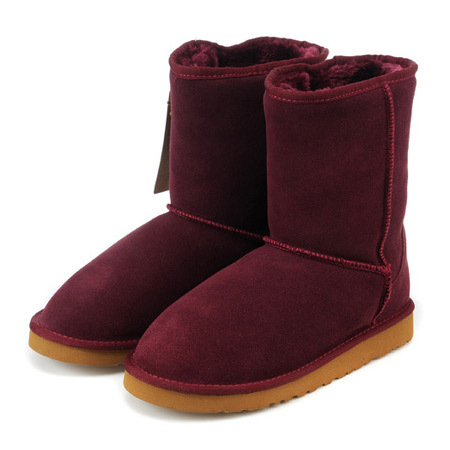 Winter Cute Fur Boots Fabric Cotton Ladies Dress Boots Red Wine Brands Australia Classic Short Boot(China (Mainland))